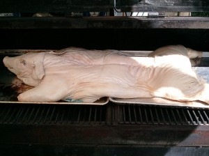 The Pig in the Smoker