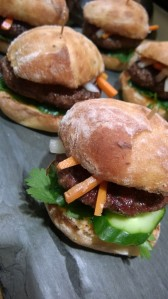 Banh-Mi-Inspired Sliders